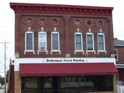 Dubuque Food Pantry Building