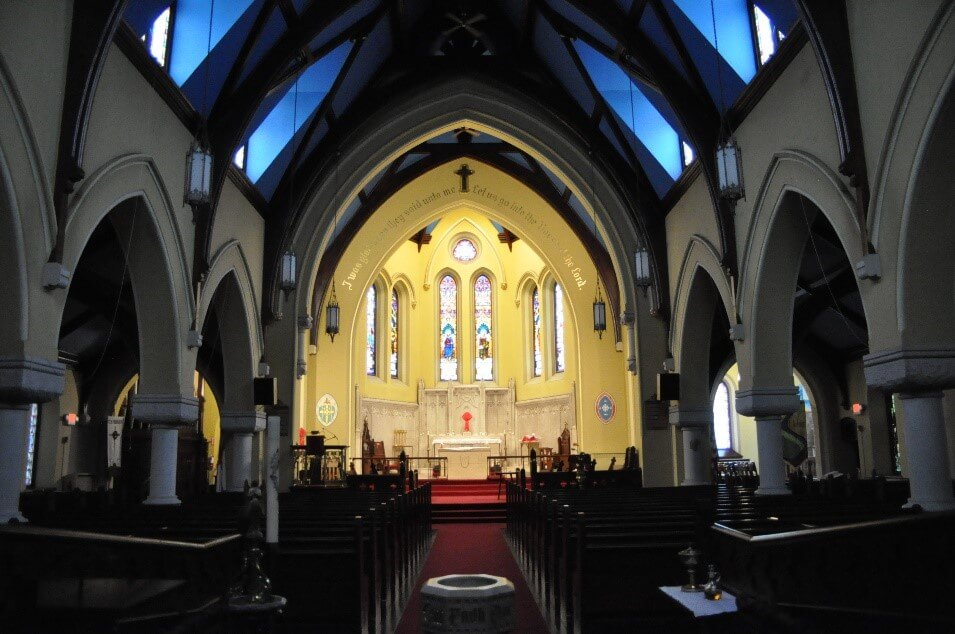 Interior photo of St. John's