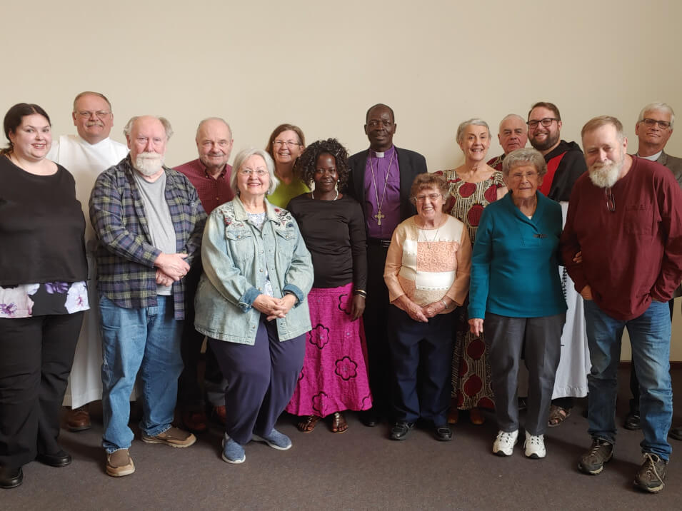 Members of St. John's and the Diocese of Nzara