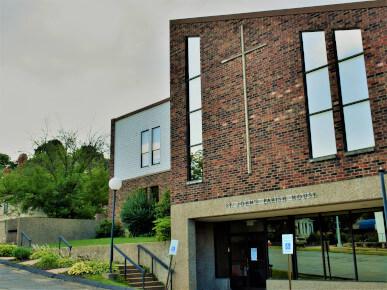 St. John's Parish House Office Entrance